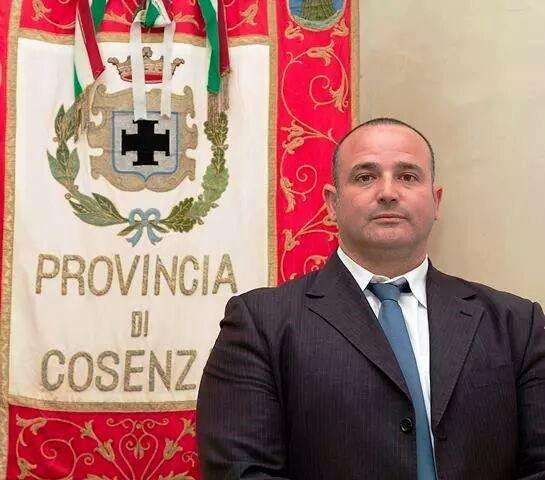 Il Consigliere Provinciale Piero Lucisano