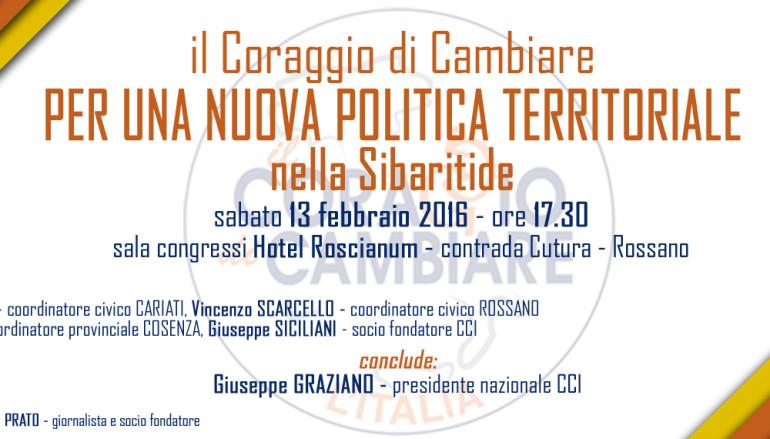 Rossano (CS) – CCI, SABATO 13 MEET DI PRESENTAZIONE DEI COORDINAMENTI SIBARITIDE
