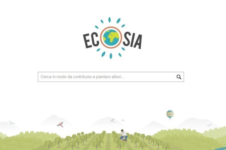 """Tecnologia – Ecosia, nasce il motore di ricerca """"verde"""""""