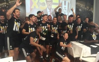 SPORT – Calcio – La Juventus nella leggenda, vinto il quinto scudetto di fila