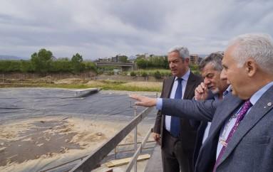 Rende (CS): Il sindaco Manna in visita al parco acquatico