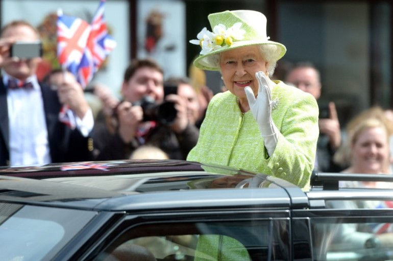 Dal Mondo – Inghilterra – Londra – La regina Elisabetta compie 90 anni