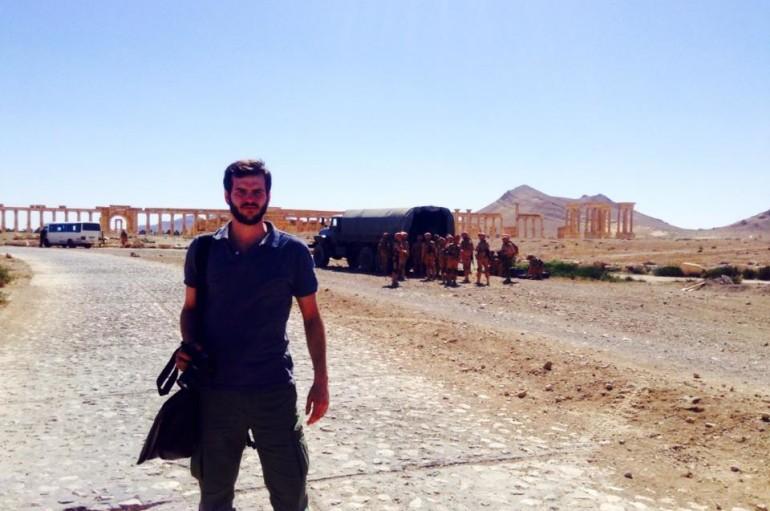 """Dal Mondo – Il giornalista Sebastiano Caputo, testimone della """"verità"""" sulla Siria – I ringraziamenti di """"Cantiere Laboratorio"""""""