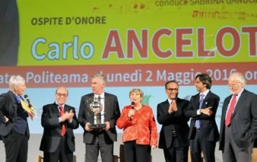 """Catanzaro: A Carlo Ancelotti il premio """"Nicola Ceravolo"""", giunto alla VII edizione"""