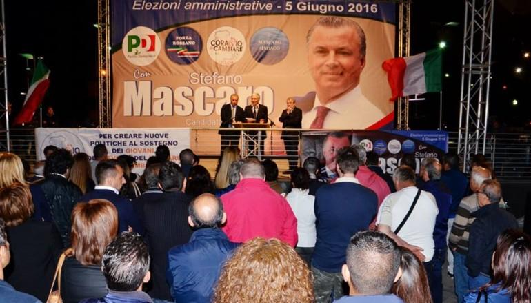 Rossano (CS): Piazze piene per l'inizio della campagna elettorale di Stefano Mascaro