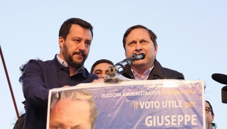 Rossano (CS): Salvini chiude il suo tour calabrese in città