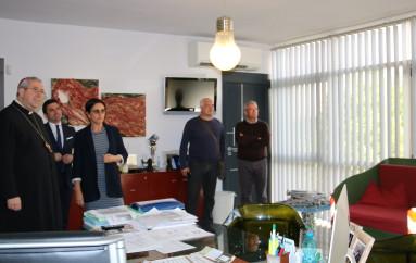 Rossano (CS): Lavoro ed ambiente alla veglia di preghiera – Monsignor Satriano in visita ad Ecoross parla di lavoro