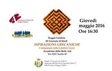 """Bova Marina (RC): In programma la III edizione della mostra """"Ispirazioni Grecaniche"""""""