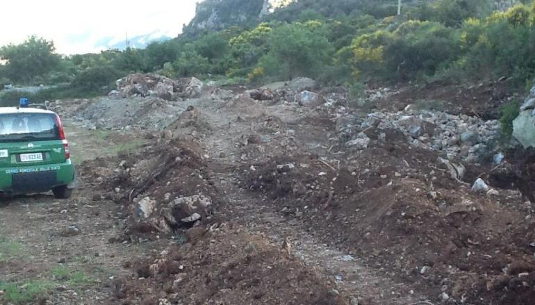 Civita (CS): Eseguiti lavori senza autorizzazione, sequestrata area