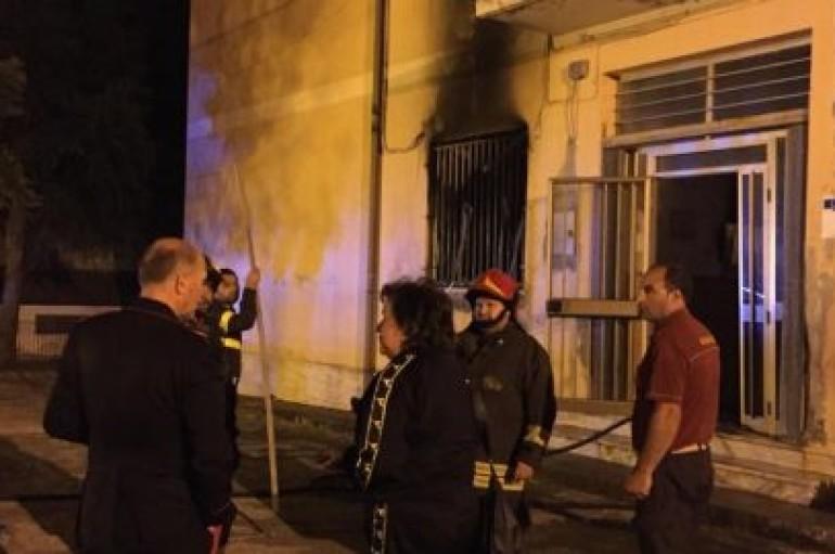 Stefanaconi (VV): Incendio doloso, scuola in fiamme