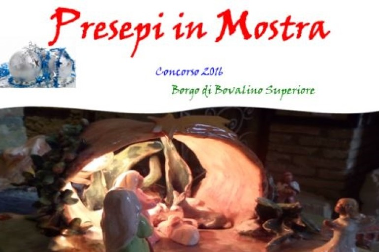 "Bovalino (RC): Al via l'evento ""Presepi in Mostra 2016"""