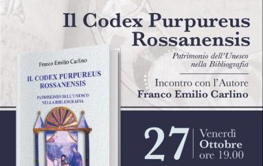 """""""Il Codex Purpureus Rossanensis"""" di Franco Emilio Carlino arriva al Le Monde"""