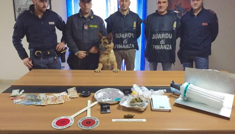 Due arresti a Rossano per detenzione e spaccio