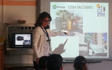 Corigliano, Ecoross e Amministrazione comunale nelle scuole