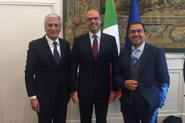 Nasce il patto federativo AP-CCI. Accordo tra Graziano, Alfano e Gentile