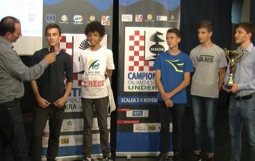 """Concluso il Campionato italiano di Scacchi a squadre Under 16 """"Riviera dei Cedri"""""""