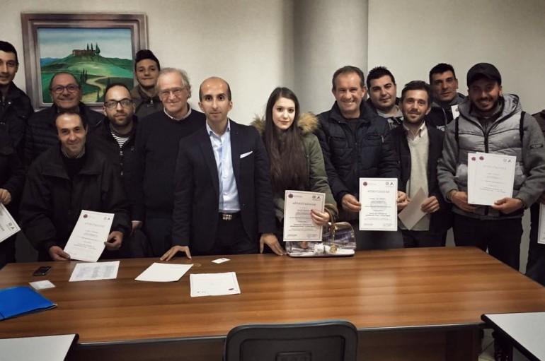 A Rossano 14 nuovi volontari nella Protezione Civile