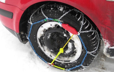 Strade provinciali, dal 15 scatta l'obbligo di catene o pneumatici da neve