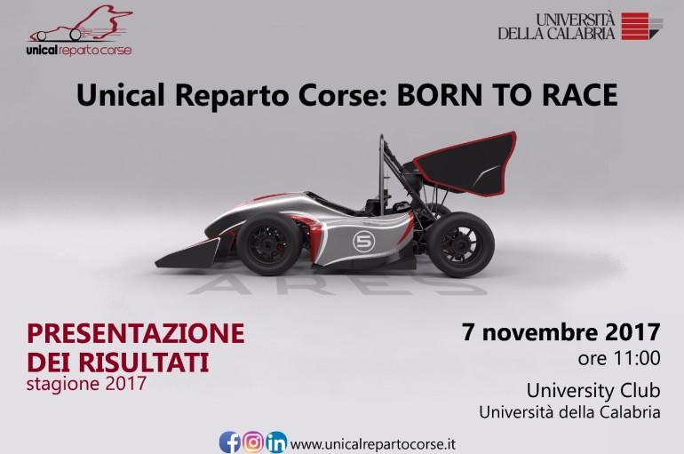 L'Unical Reparto Corse presenta i risultati ottenuti nella stagione 2017