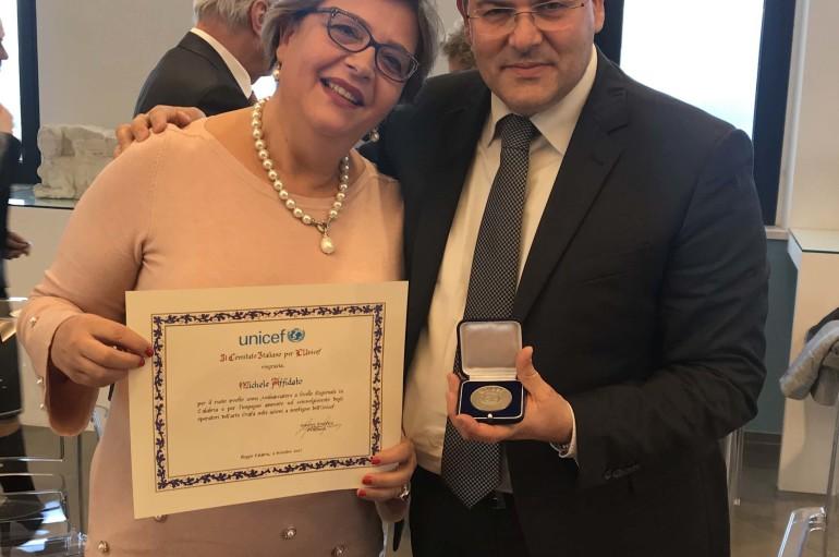 Michele Affidato nominato Ambasciatore Unicef