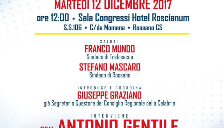 Martedì 12 il Ministro Lorenzin a Rossano