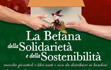 Befana a Rossano: 400 i giochi donati alle Farmacie