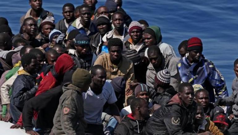 In corso una marcia di migranti che chiedono più diritti