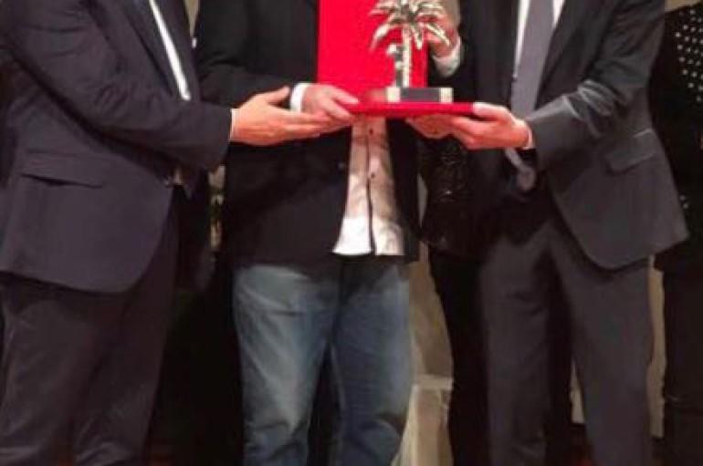 Sanremo:  a Toto Cutugno la Palma d'Argento di Michele Affidato